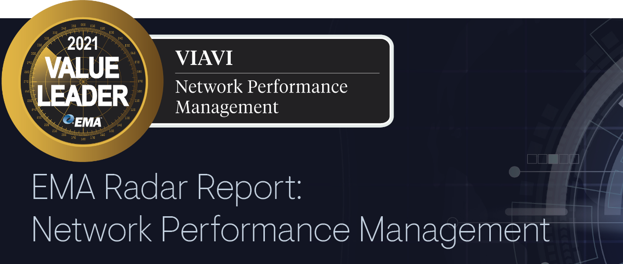 EMA Radar Report: Network Performance Management