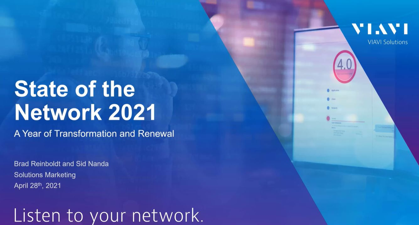 State of the Network 2021: Transformation and Renewal